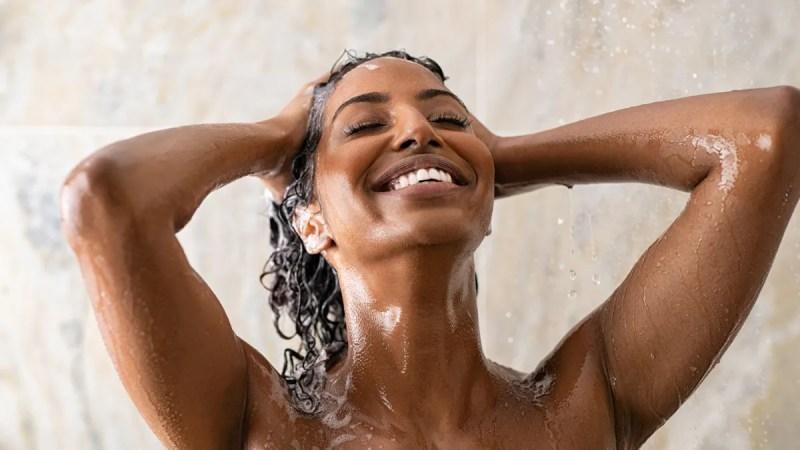 hair shower rinse