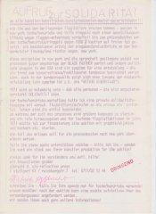 Aufruf zur Solidarität mit Toche/Hendricks (Art Workers Coalition), Sammlung Decker