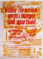 """Plakat zur Initiative """"Bilder für Afrika"""", ins Leben gerufen von Aloys Ohlmann. Plakat: Albrecht/d. An der Aktion beteiligten sich über 230 Künstler."""