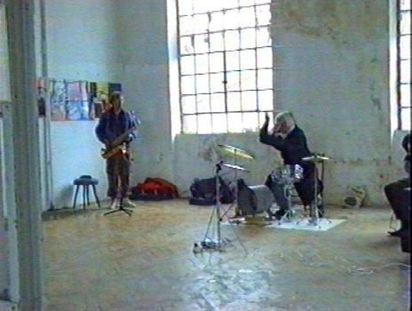 albrecht/d. mit Steffen Bremer und Jochen Zunker slow entertainment Kunstraum Göppingen 1994