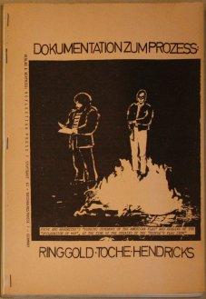 Dokumentation zum Prozess Ringgold Toche Hendricks (wg. Flaggen-Entweihung in den USA) 1971, Sammlung Decker