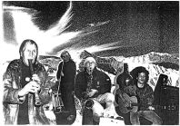 """Collagiertes """"Bandfoto"""" von Slow Entertainment mit Franz Dreyer, Steffen Bremer und Jogi Zunker"""