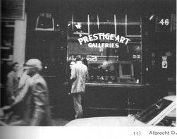 """""""Prestige-Art Galleries"""", Abdruck in der Zeitschrift """"Volksfoto"""", Ausgabe 2, 1977"""