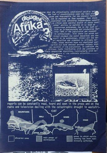 "Plakat ""Drought in Africa"""