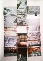 """Ensemble zum Sahel-Projekt. Abbildung aus """"Mein Fotoalbum"""", Galerie Minotaura 1994, Sammlung Georg Mühleck"""