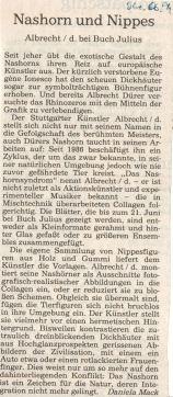 Artikel in der StZ vom 04.06.1994 zur Ausstellung bei Buch Julius