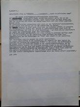 """Entwurf eines Resumees zur Rezeption der Ausstellung """"Kunst im Politischen Kampf"""" 1973"""