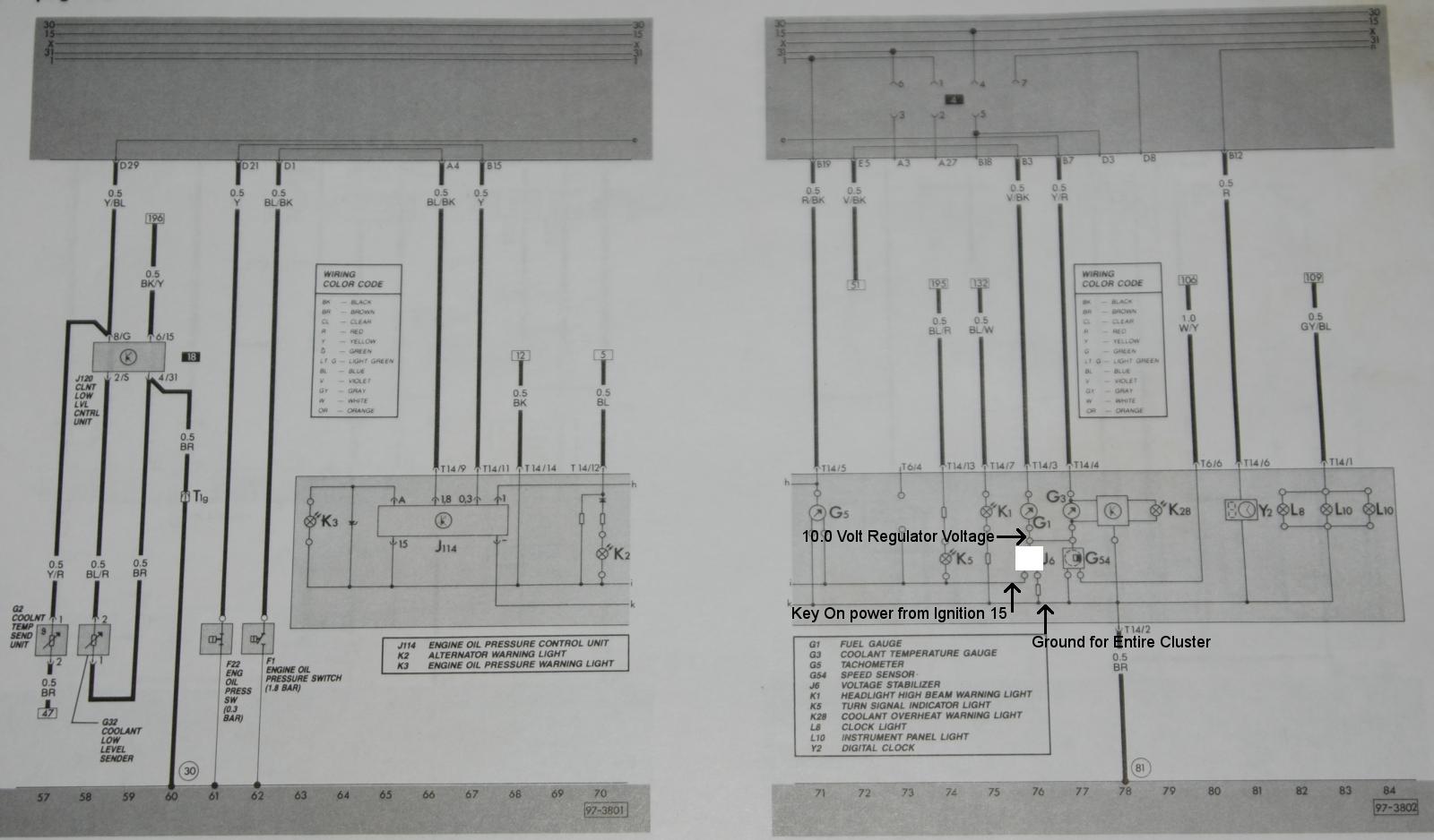 vortex flow meter wiring diagram seven pin trailer plug vwvortex tach and gauges gone