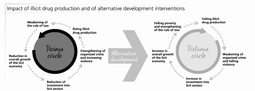 impact of alternative development on illicit drug trade