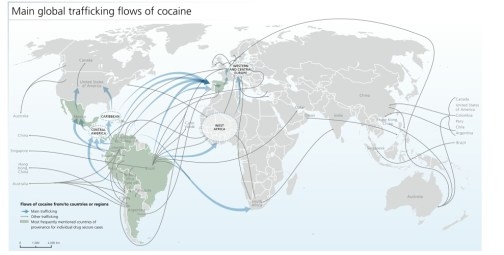 global flows of cocaine