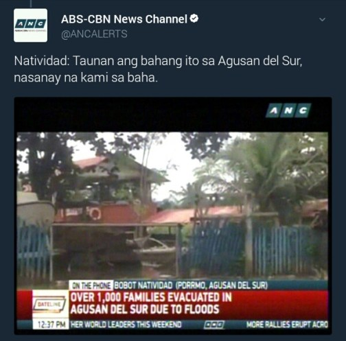 flooding in agusan del sur