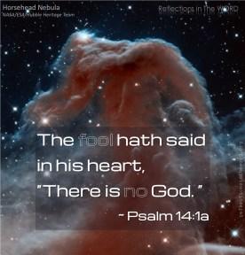Psalm 14:1a