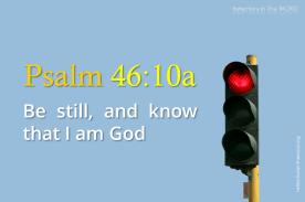 Psalm 46:10a