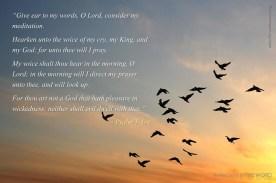 Psalm 5:1-4