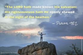 Psalm 98:2