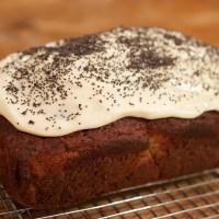 Banana and Poppy Seed Loaf Cake