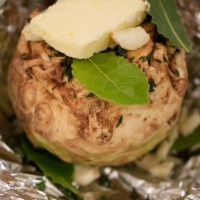 Whole Roasted Celeriac