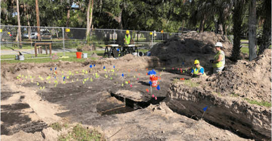 Archaeologists Unearth Artifacts of Bradenton's First Settlers