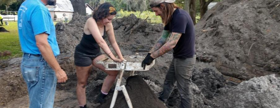 Archaeologists look to uncover the area's history at Manatee Mineral Springs Park