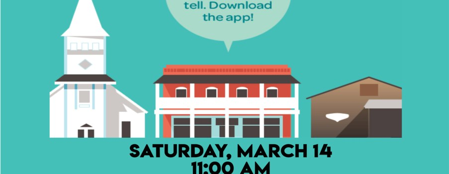 SPECIAL EVENT: Saturday, March 14 11:00 AM at Manatee Village Historical Park
