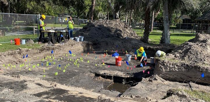 Manatee Mineral Spring Excavation Featured on WFLA News, Tampa
