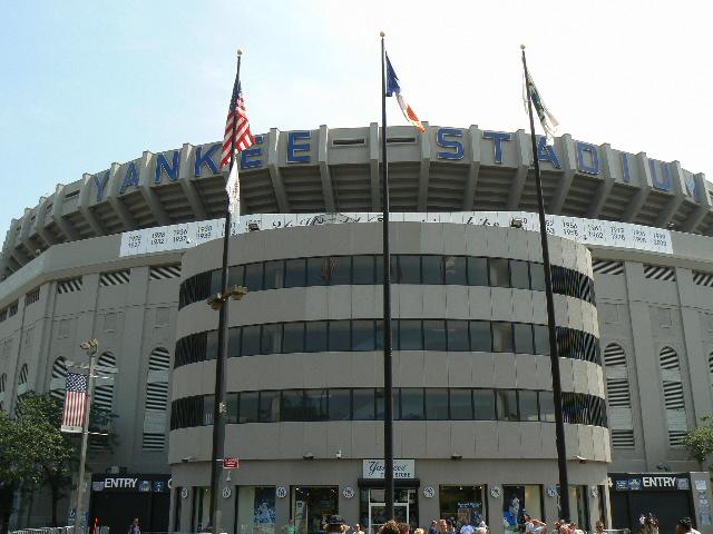 Gate 4 entrance,Old Yankee Stadium