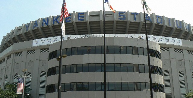Gate 4 entrance,Old Yankee Stadium