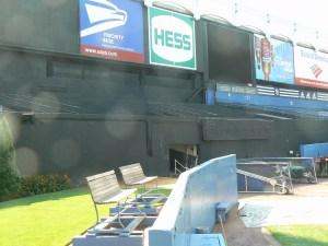 Old Yankees Stadium - The Bullpen (Photo: Steve Contursi Reflections On Baseball)