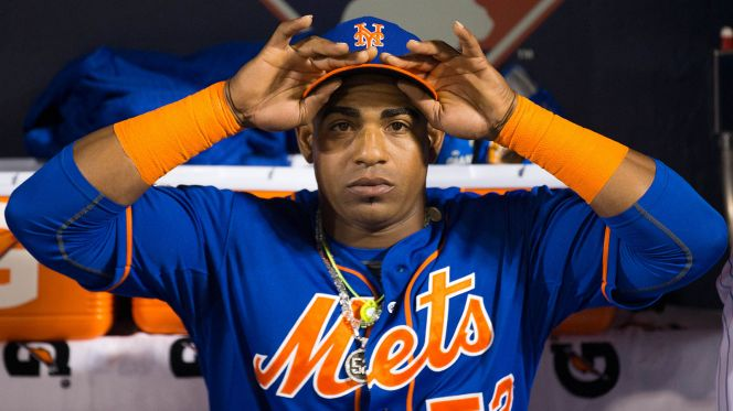 Yoenis Cespedes, New York Mets (Photo: New York Post)