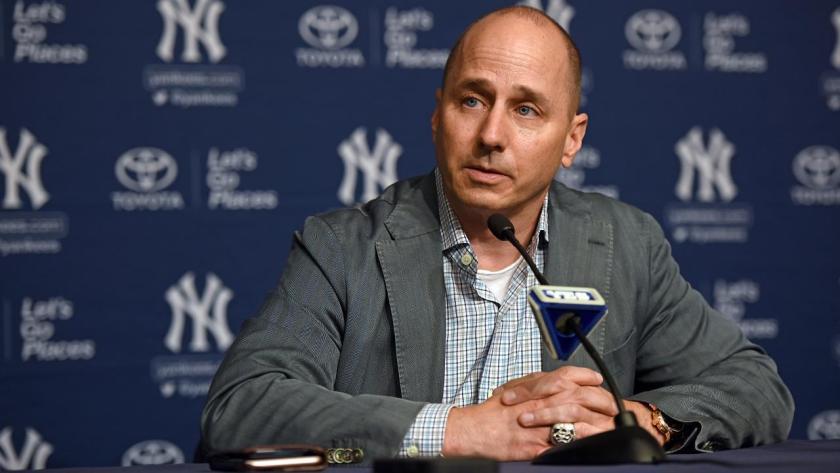 Brian Cashman, GM New York Yankees Photo Credit: MLB.com