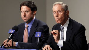 The Cheapskates: Mets Owners Fred and Jeff Wilpon Photo Credit: Politico