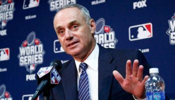 MLB Commissioner, Rob Manfred (Photo: Sporting News)