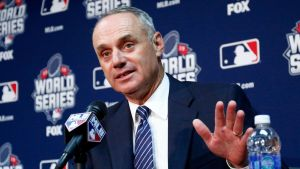 MLB Commissioner, Rob Manfred