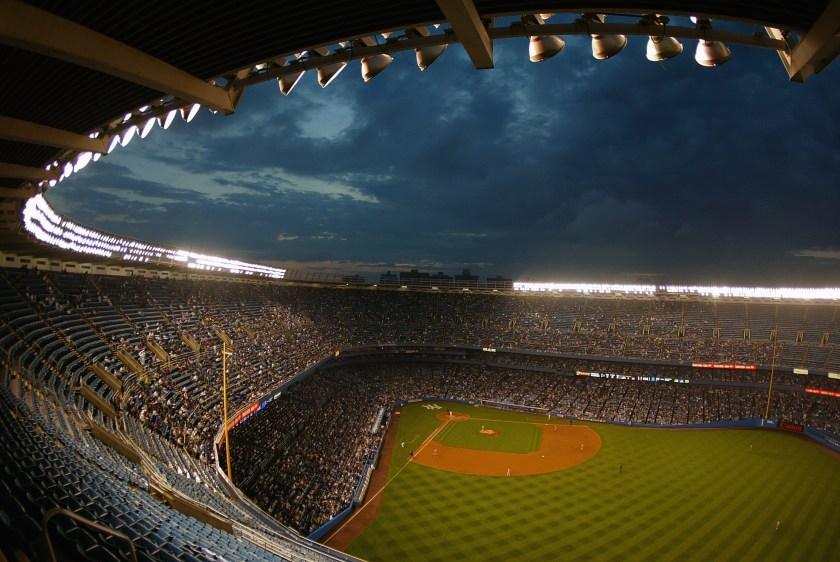 Yankee Stadium.Home of the New York Yankees