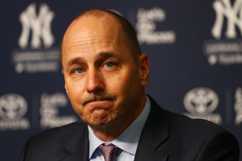 Brian Cashman, GM New York Yankees