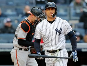 Giancarlo Stanton, New York Yankees Photo Credit: New York Times