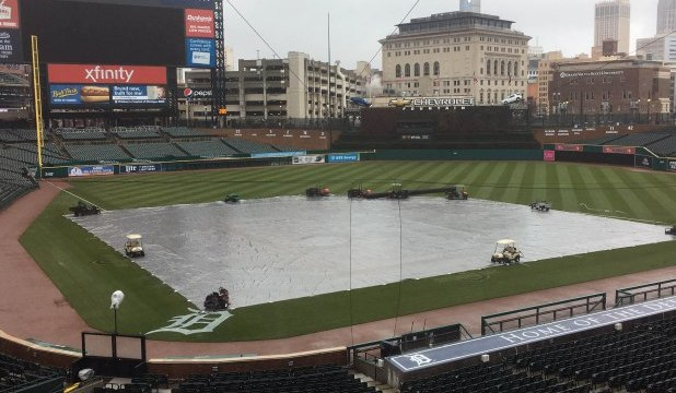 Yankees/Tigers Rainout 4/15/18