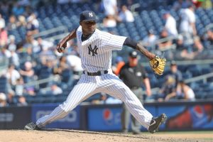 May 6, 2018 Domingo German six innings of no-hit ball in first start as a Yankee.