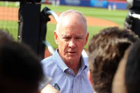Sandy Alderson, GM, New York Mets Photo Credit: Amazin Avenue