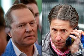 Scott Boras/Jeff Wilpon Head To Head Photo Credit: New York Post
