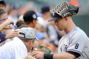 Brett Gardner, Yankees Outfielder Photo Credit: bronxbaseballdaily.com