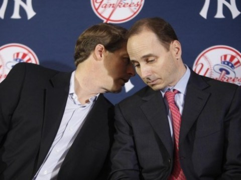 Yankees Hal Steinbrenner & Brian Cashman - Blending Perfectly Photo Credit: The Captain's Blog