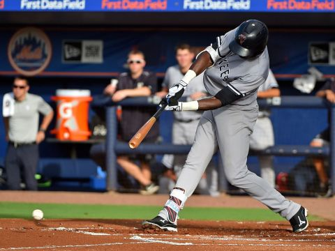 Yankees Prospect Estevan Florial Jasen Vinlove-USA TODAY Sports