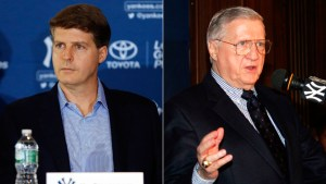 The Steinbrenners - A Yankees Legacy Photo by Jim McIsaac/Getty Images)Hal Steinbrenner (Photo by Jim McIsaac/Getty