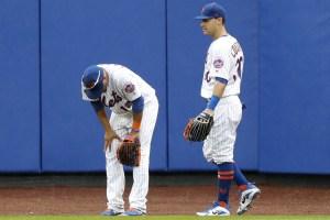 Juan Legares, Mets Centerfielder Photo Credit: Paul J. Bereswill / NY Post