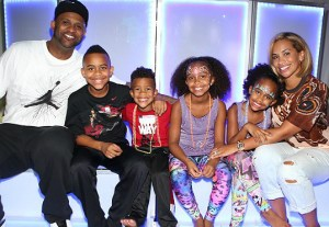 CC Sabathia & Family Photo Credit: BCK Online