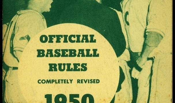 1876 First Publication Of Baseball Rules (Photo: Pinterest)
