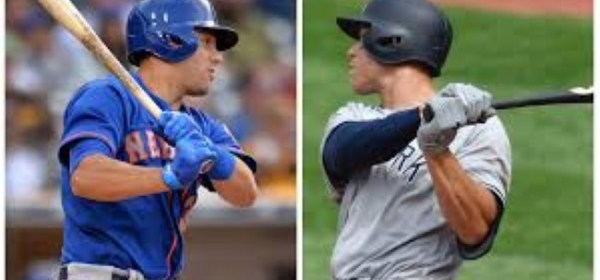 Homegrown - Michael Conforto (Mets), Aaron Judge (Yankees) (Photo: SNY TV)