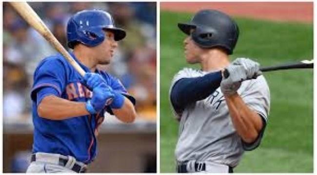 Homegrown - Michael Conforto (Mets), Aaron Judge (Yankees) (Photo: SNY TV)