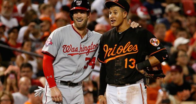 Not Yankees - Bryce Harper and Manny Machado (Photo: The Good Phight)